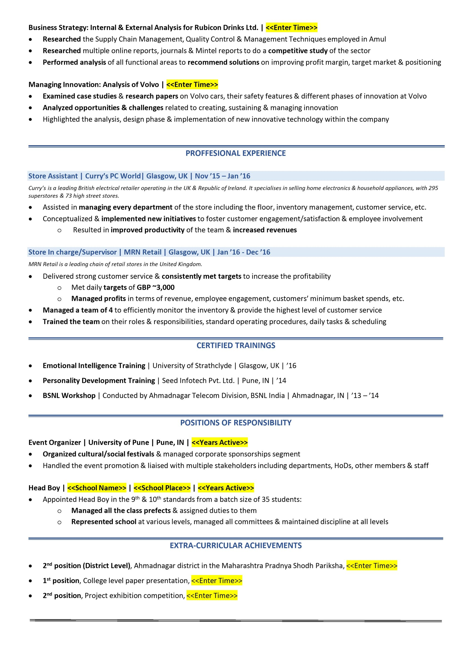 Example Of College Student Resume | Student Resume 2019 Guide To College Student Resume Sample