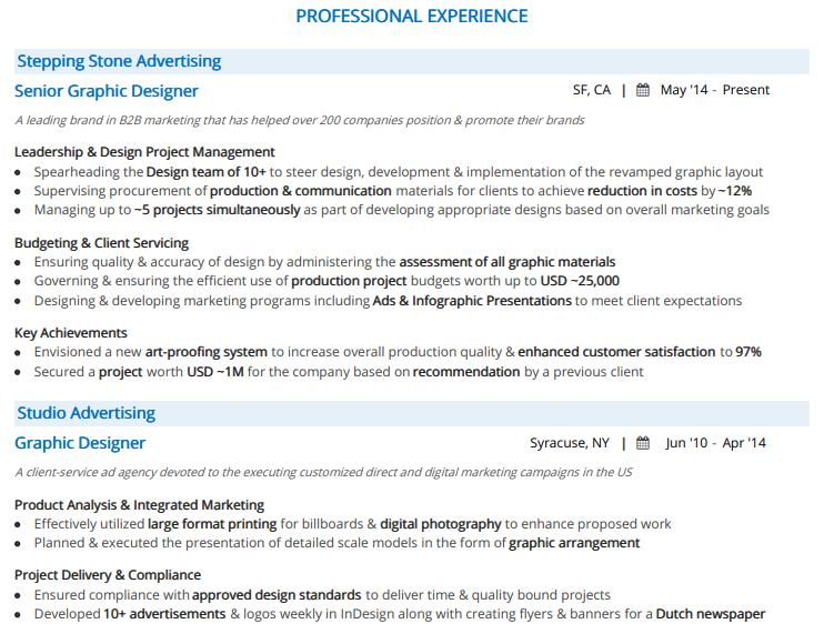 Graphic-Designer-Professional-Experience