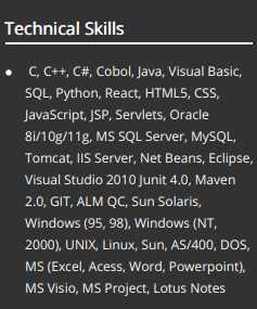 Computer Skills For Resume: The 2019 Guide [100+ Examples & Samples]
