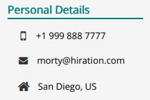 Receptionist-Personal-Information