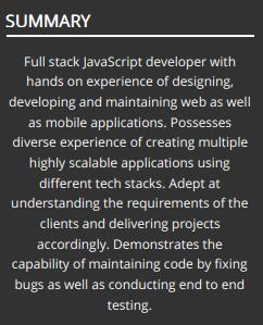 Web-developer-summary