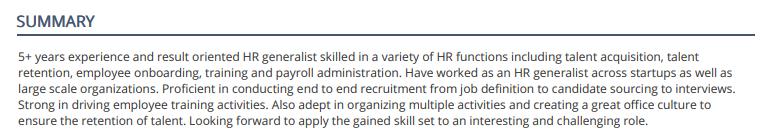 HR-Summary