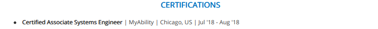 Engineering-Certifications