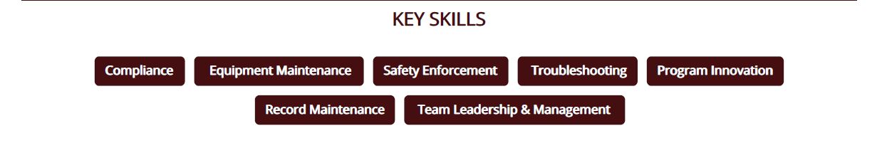 Maintenance_Resume_Key_Skills