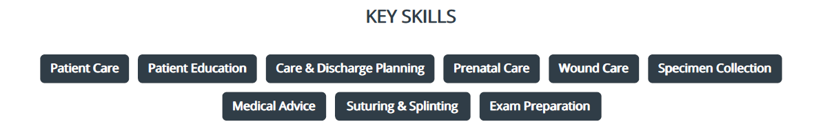 Nursing_Student_Resume_Key_Skills