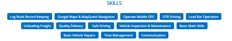Skills---Truck-Driver-Resume