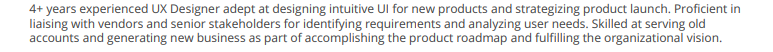 UX-Summary