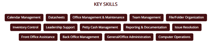 office-assistant-resume-skills