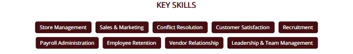 store-manager-resume-skills
