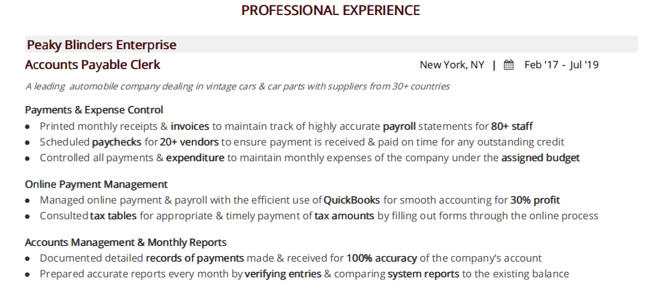 Accounts-payable-resume-professional-experience-1