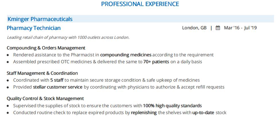 Pharmacy-technician-resume-professional-experience-2