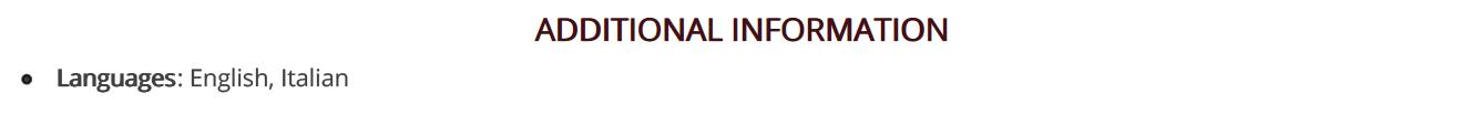 executive-assistant-resume-additonal-information