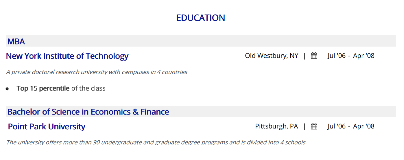 financial-analyst-resume-education
