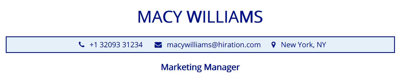 marketing-manager-resume-profile-title