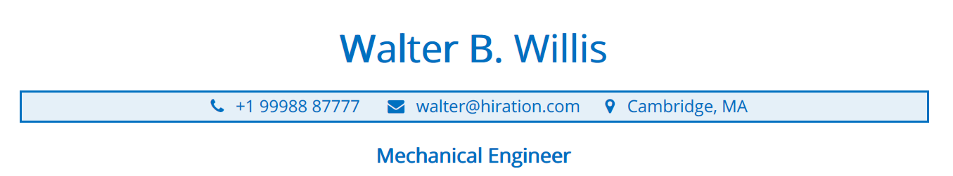 mechanical-engineering-resume-profile-title