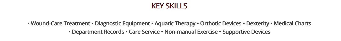 physical-therapy-resume-key-skills