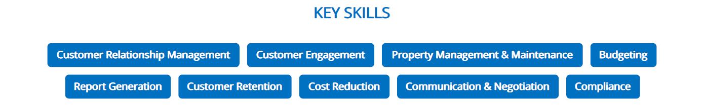 property-manager-resume-key-skills