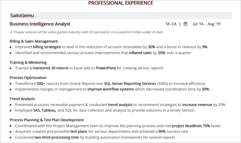 Business-Intelligence-Analyst-Professional-Experience
