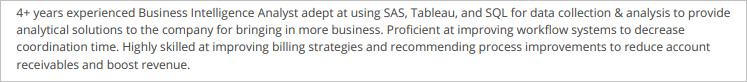 Business-Intelligence-Analyst-Summary