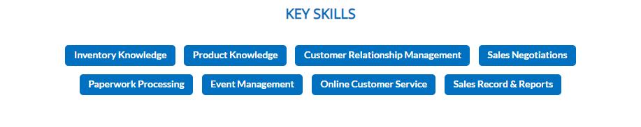 Car-Salesman-resume-key-skills