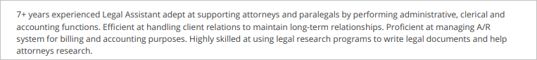 Legal-Assistant-Summary
