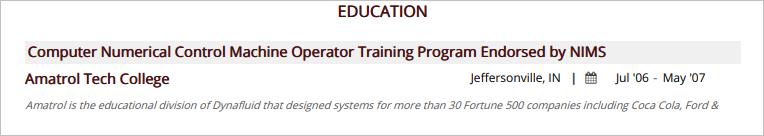 Machine-Operator-Education