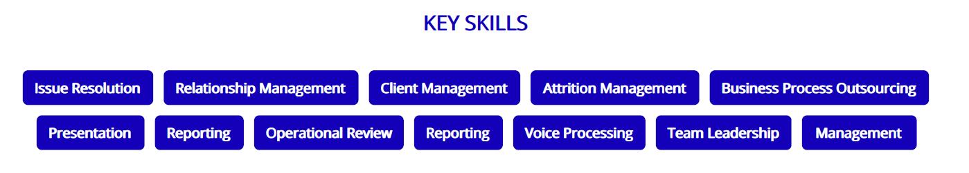 call-center-resume-key-skills