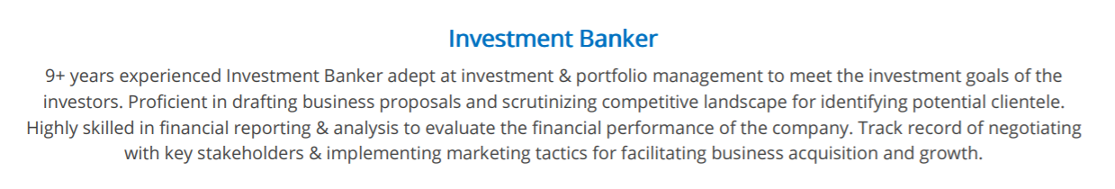 investment-banking-summary