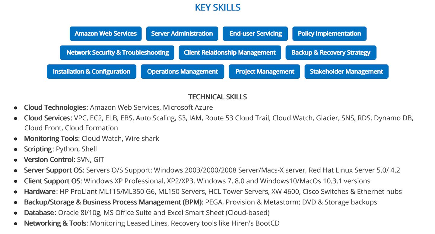 it-resume-key-skills