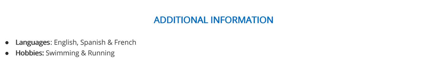 police-officer-resume-additional-information
