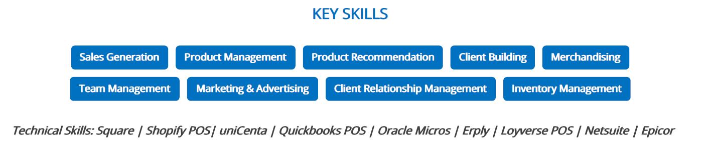 retail-resume-key-skills
