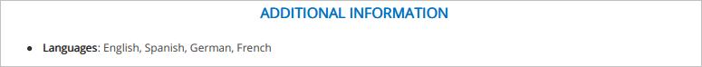 Front-Desk-Resume-Additional-Information