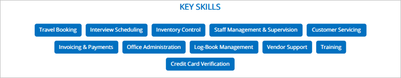 Front-Desk-Resume-Key-Skills