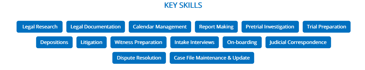 Paralegal-Resume-Key-Skills