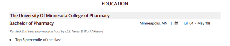 Pharmacist Resume 2019 Guide With 20 Samples Examples