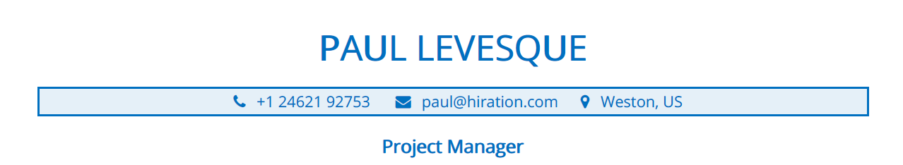 Project-Manager-Resume-Profile-Title