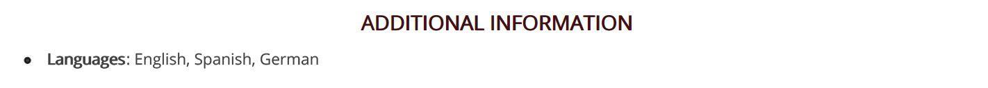 legal-resume-additional-information