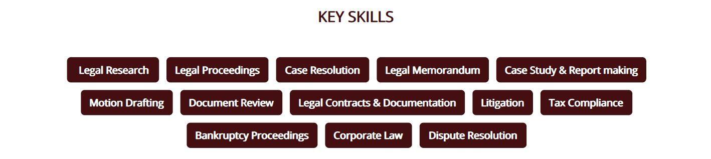 legal-resume-key-skills