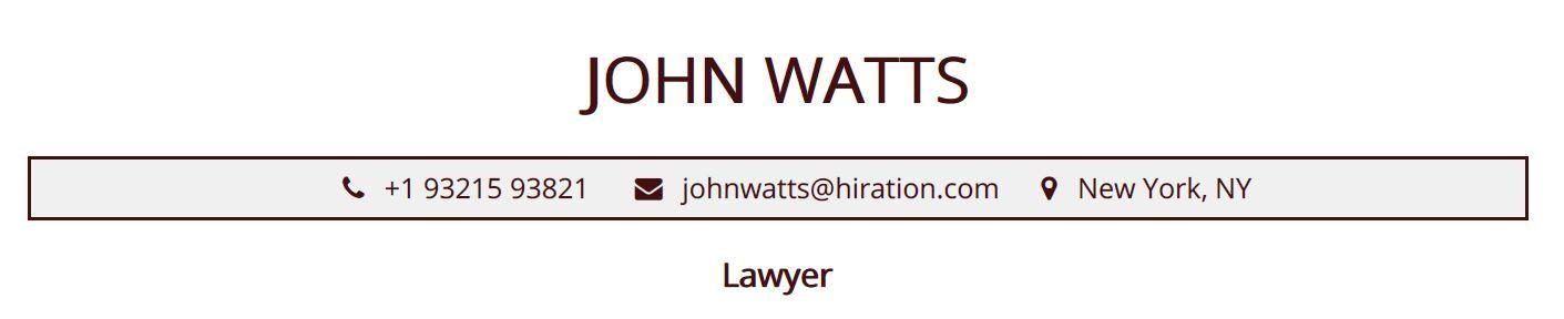 legal-resume-profile-title