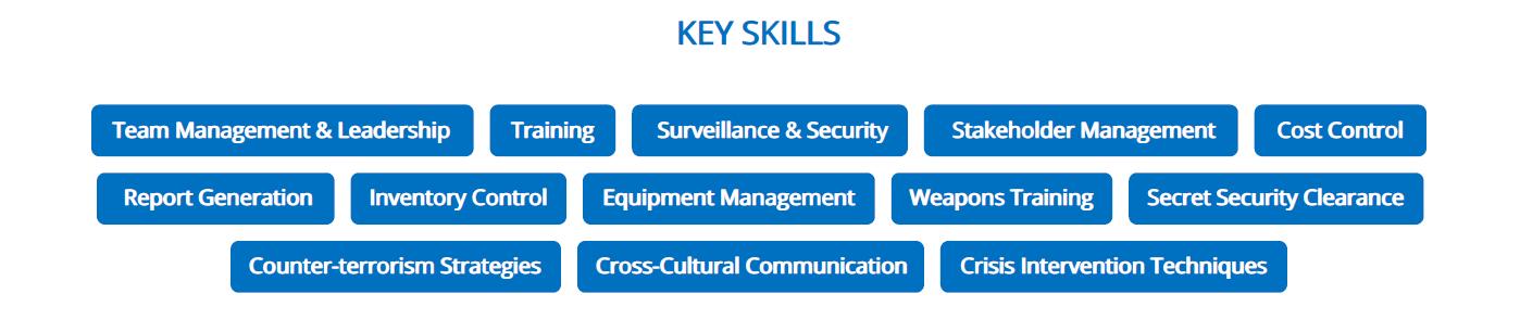 military-resume-key-skills