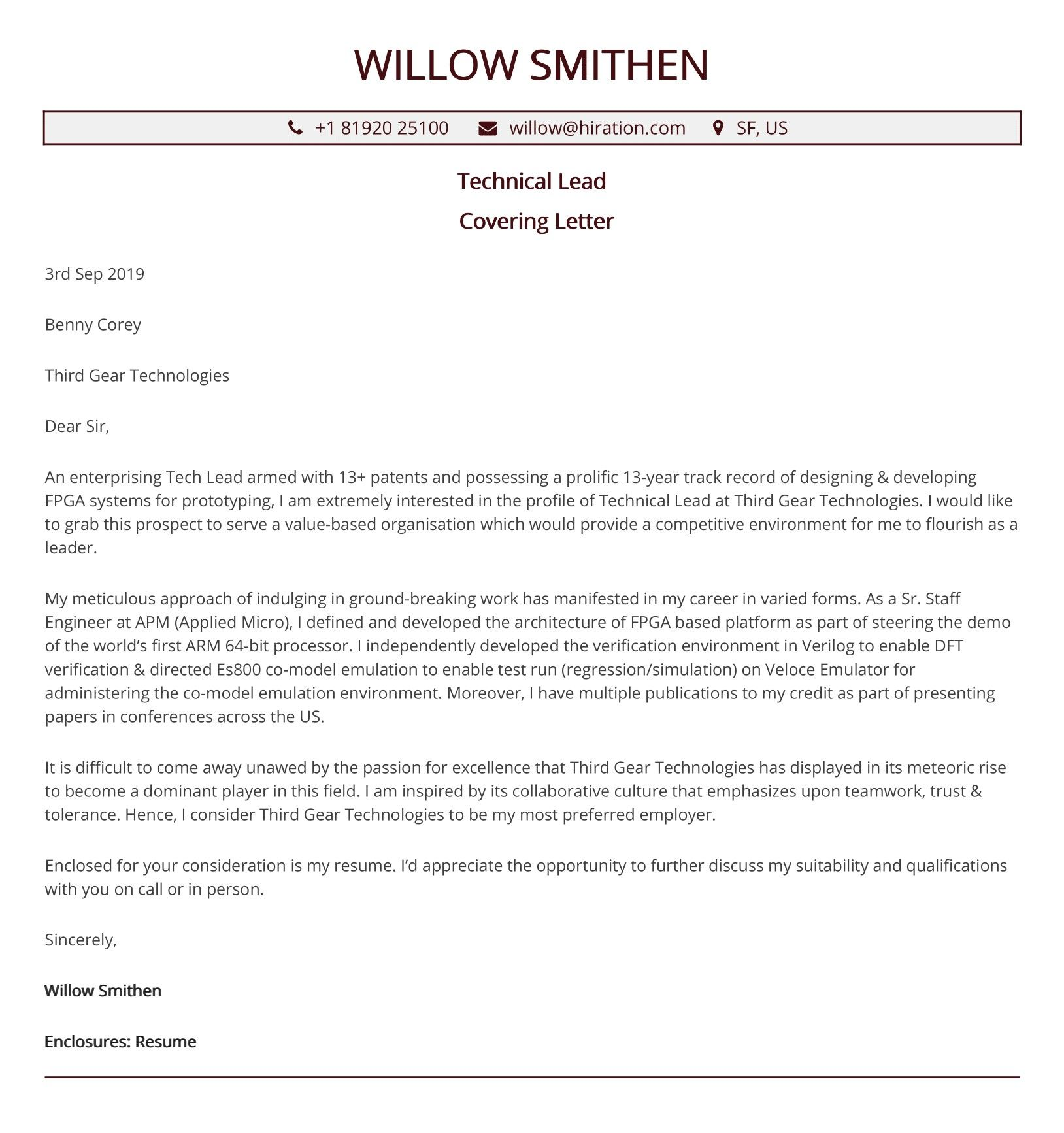 20+ Cover Letter Examples for your Resume in 2020