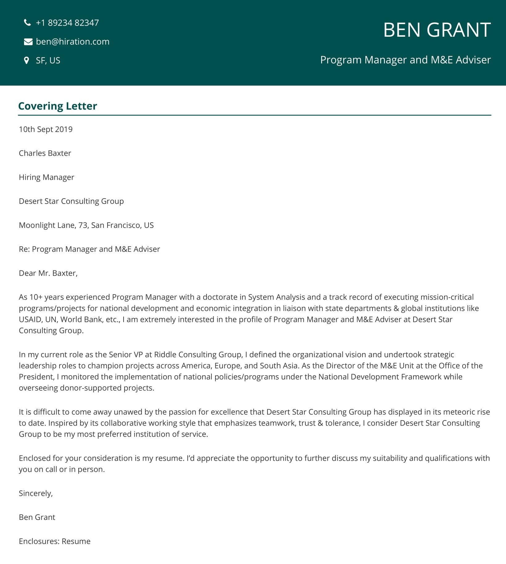 20 Cover Letter Examples For Your Resume In 2021