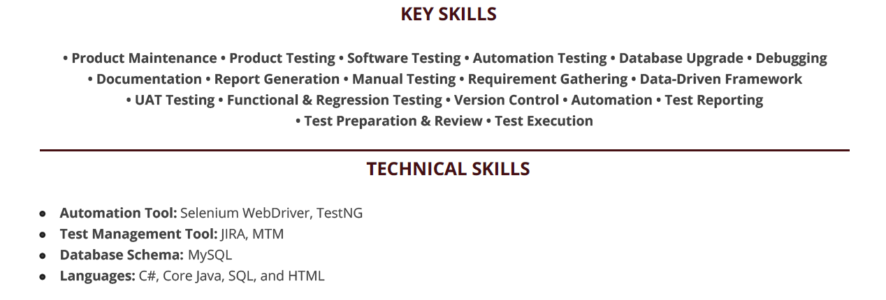 Qa Tester Resume Guide The Complete 2020 Guide With 10 Examples