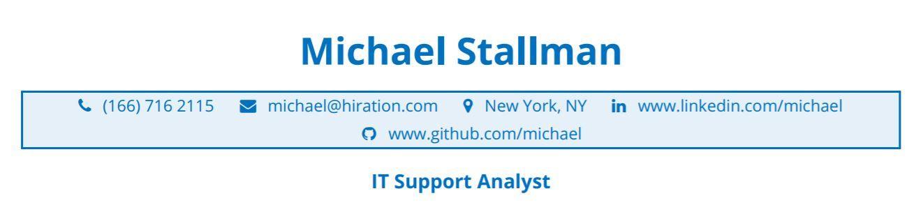 it-professional-resume-profile-title