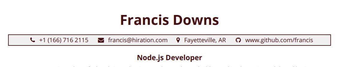 nodejs-resume-profile-title