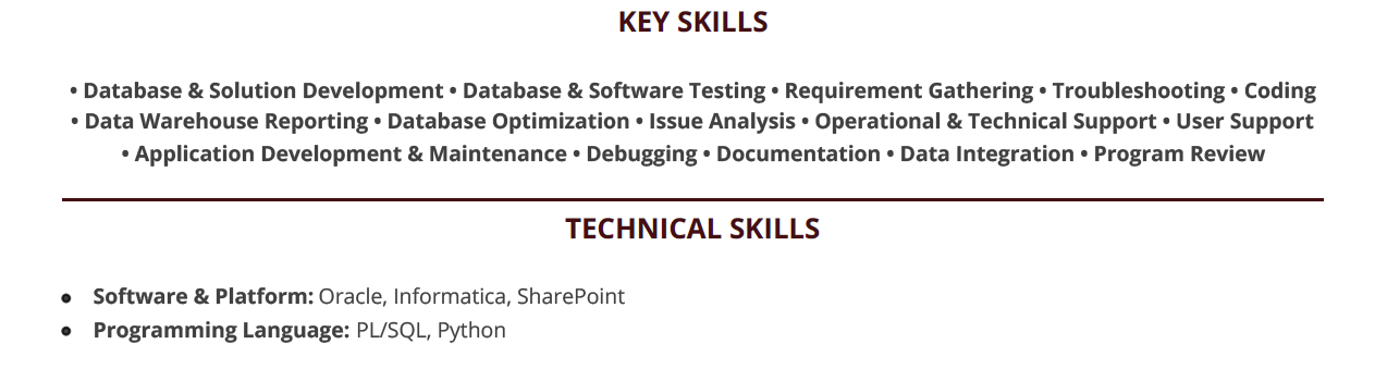 database developer resume  complete guide with 10  examples