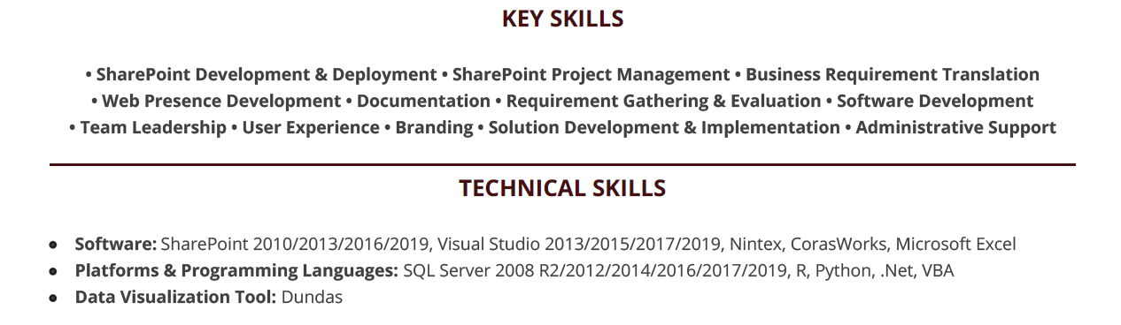 sharepoint resume blog complete guide with 10 section