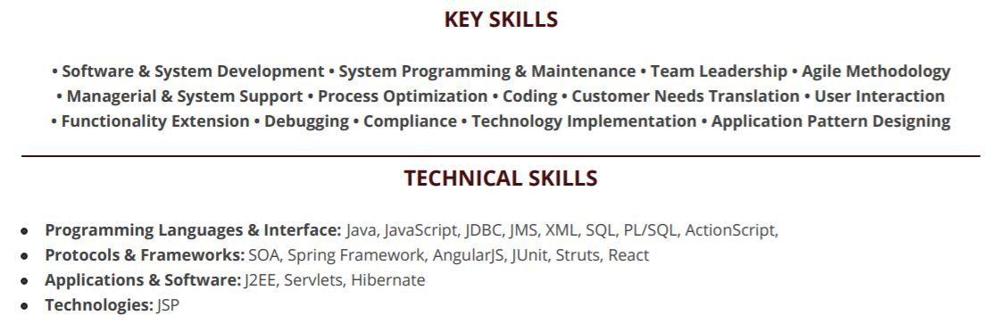 java full stack developer resume guide with 20  resume samples