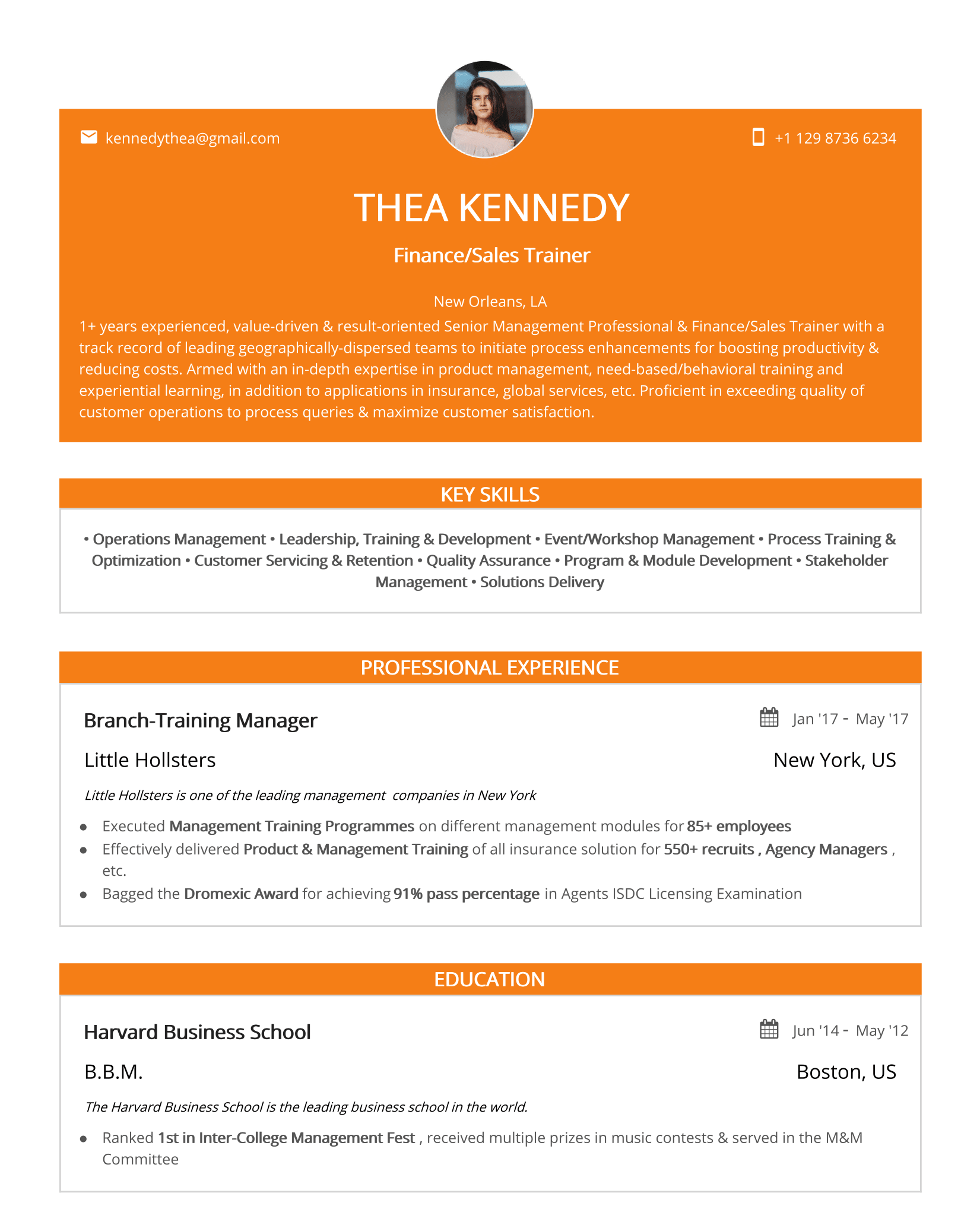 Twist-minimal-resume-template