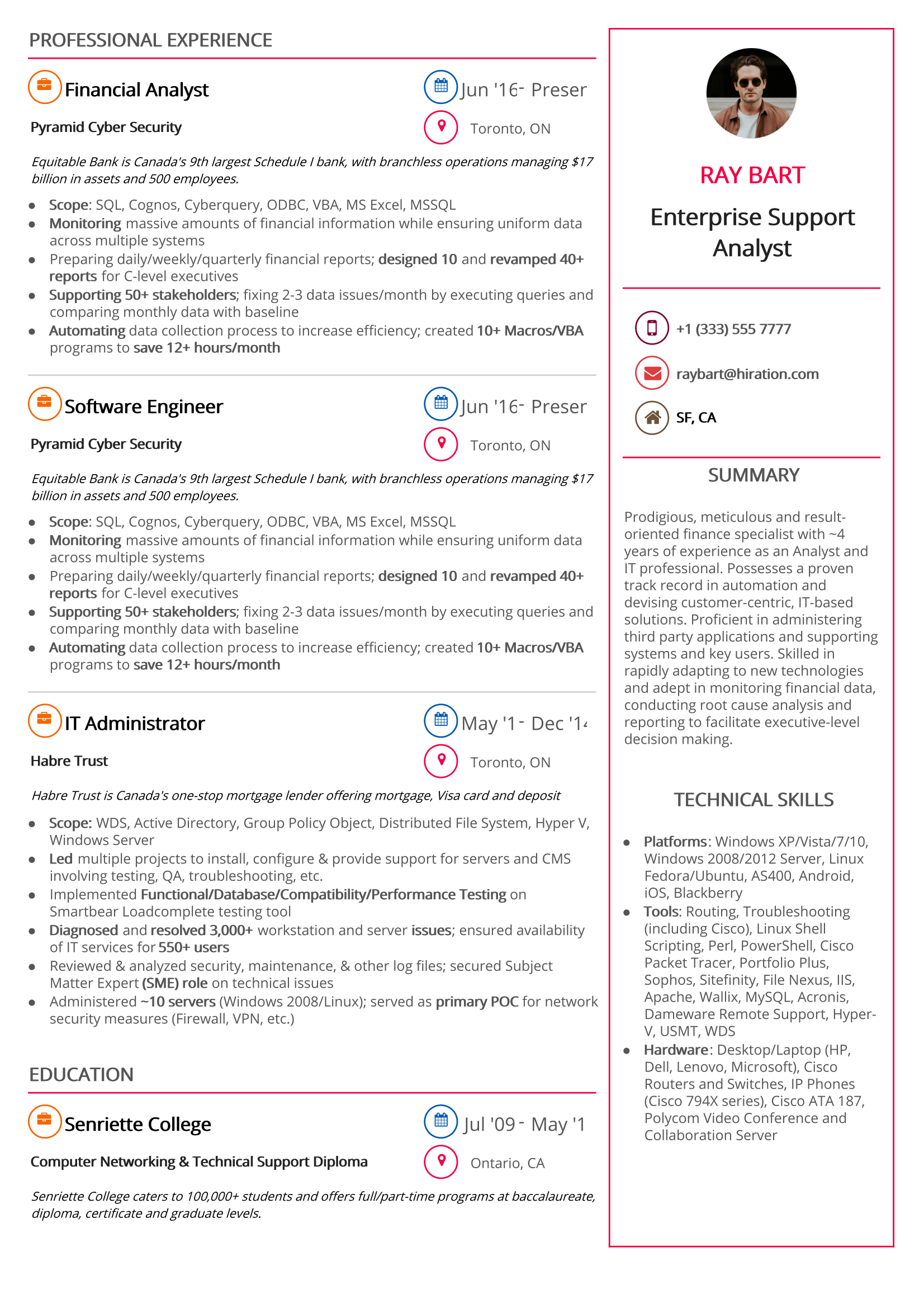 teendy-minimal-resume-template